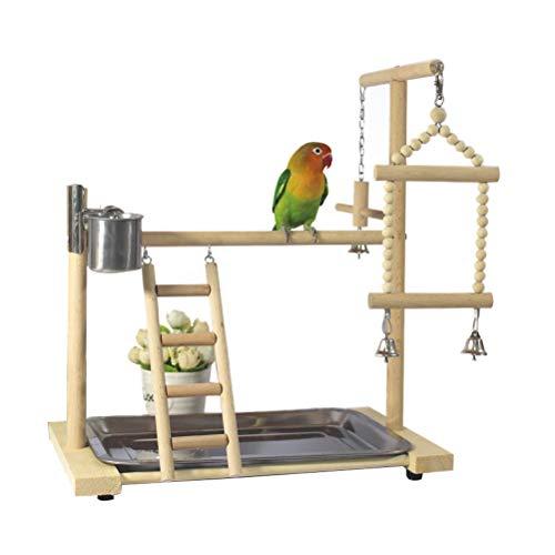 Dytiying Pino Parrot Bird Parque de juegos para pájaros, Jaula de juegos para...